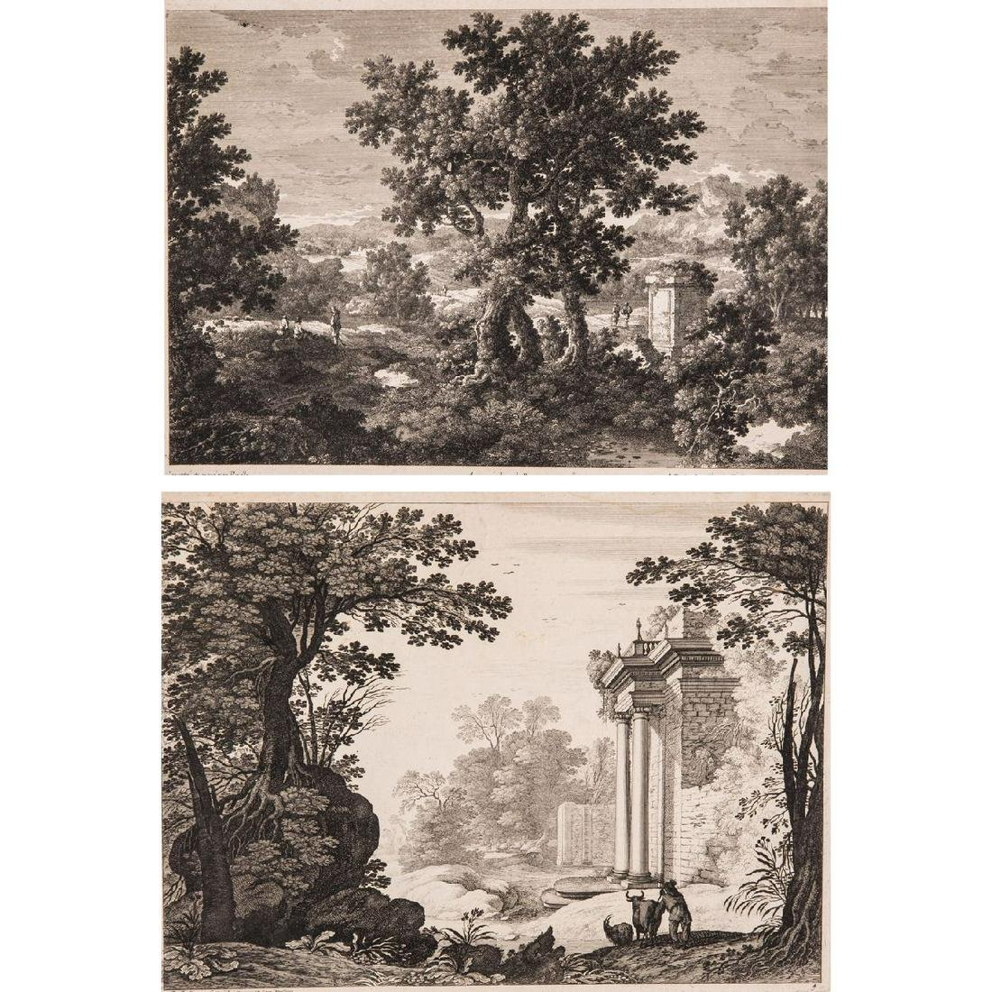 Gabriel Perelle (French, 1603-1675) Two Forest