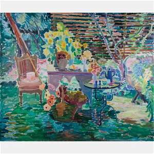Joseph B. O'Sickey (American, 1918-2013) Garden