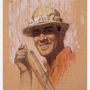 Frederick Widlicka American 19071994 Portrait of a