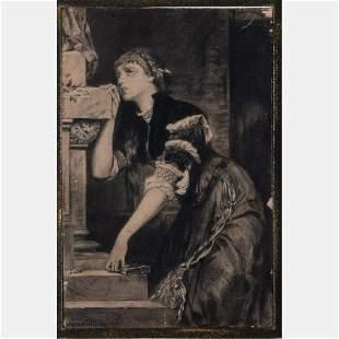 Anton Widliczka Widlicka 19th Century Woman