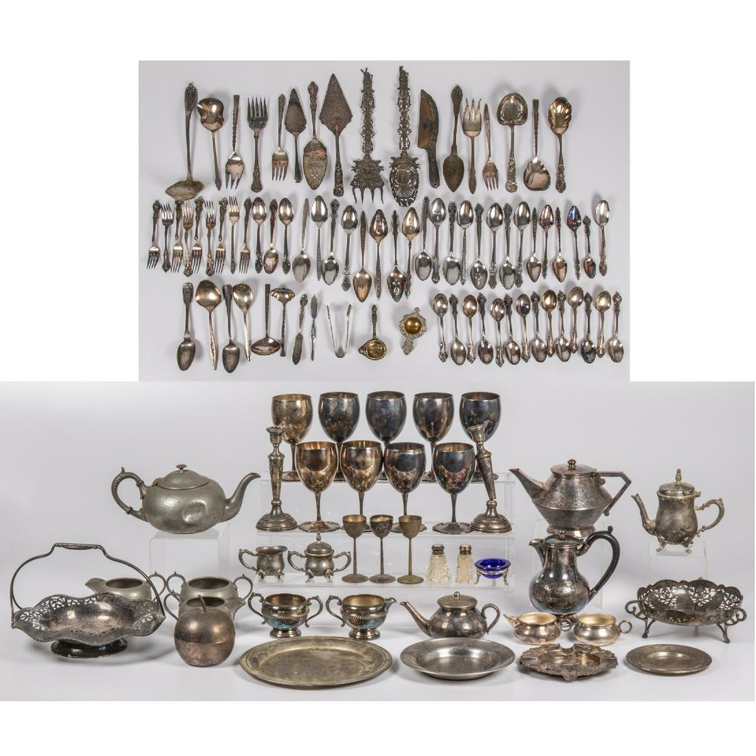 A Miscellaneous Collection of Sterling Silver and