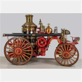 An American LaFrance Steam Fire Engine No. 496, 1904,