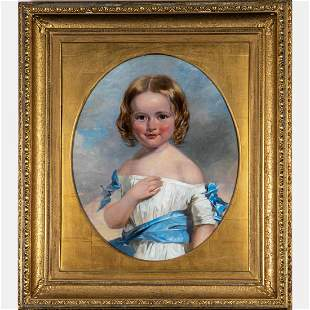 Henry Inman (American, 1801-1846) Portrait of a Young