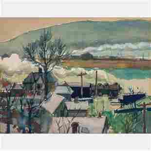 Lawrence Blazey (American, 1902-1999) Industrial