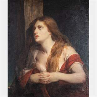 Peter Rothermel (American, 1817-1895) Mary Magdalene