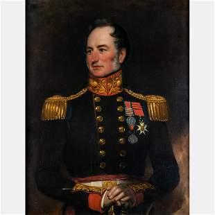 Jan Willem Pienemann (British, 1779-1853) Portrait of