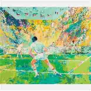 LeRoy Neiman (American, 1921-2012) Tennis Stadium,
