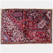 A SemiAntique Persian Heriz Wool Rug Early 20th