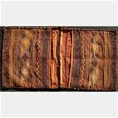 An Antique Persian Soumak Wool Saddle Bag 20th