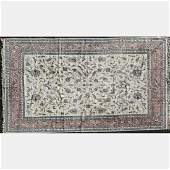 An Indo Persian Tabriz Wool Rug