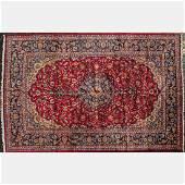 A Persian Isfahan Wool Rug,