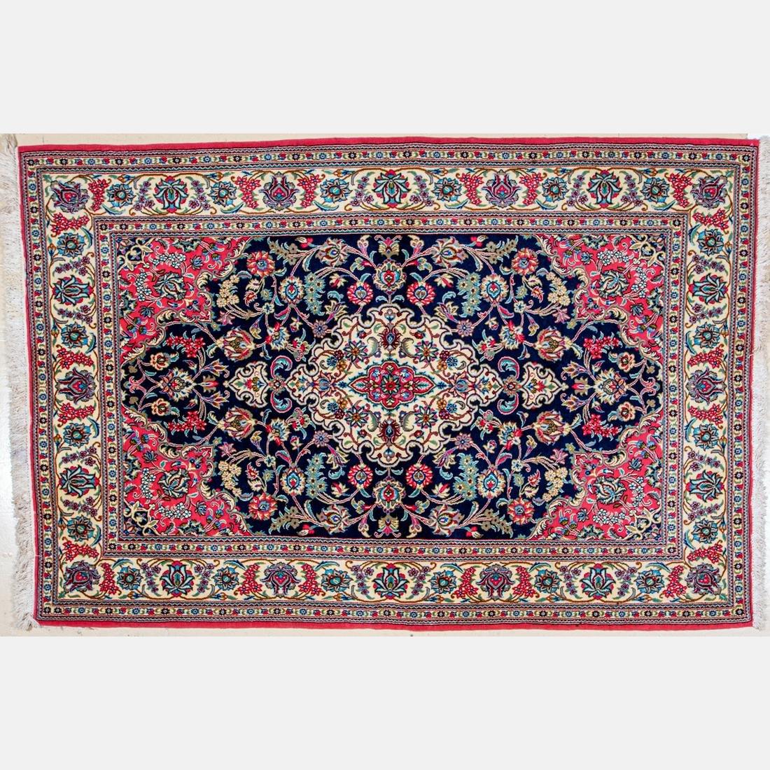 A Fine Persian Wool Rug,
