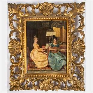 Artist Unknown Italian19th Century Interior Scene