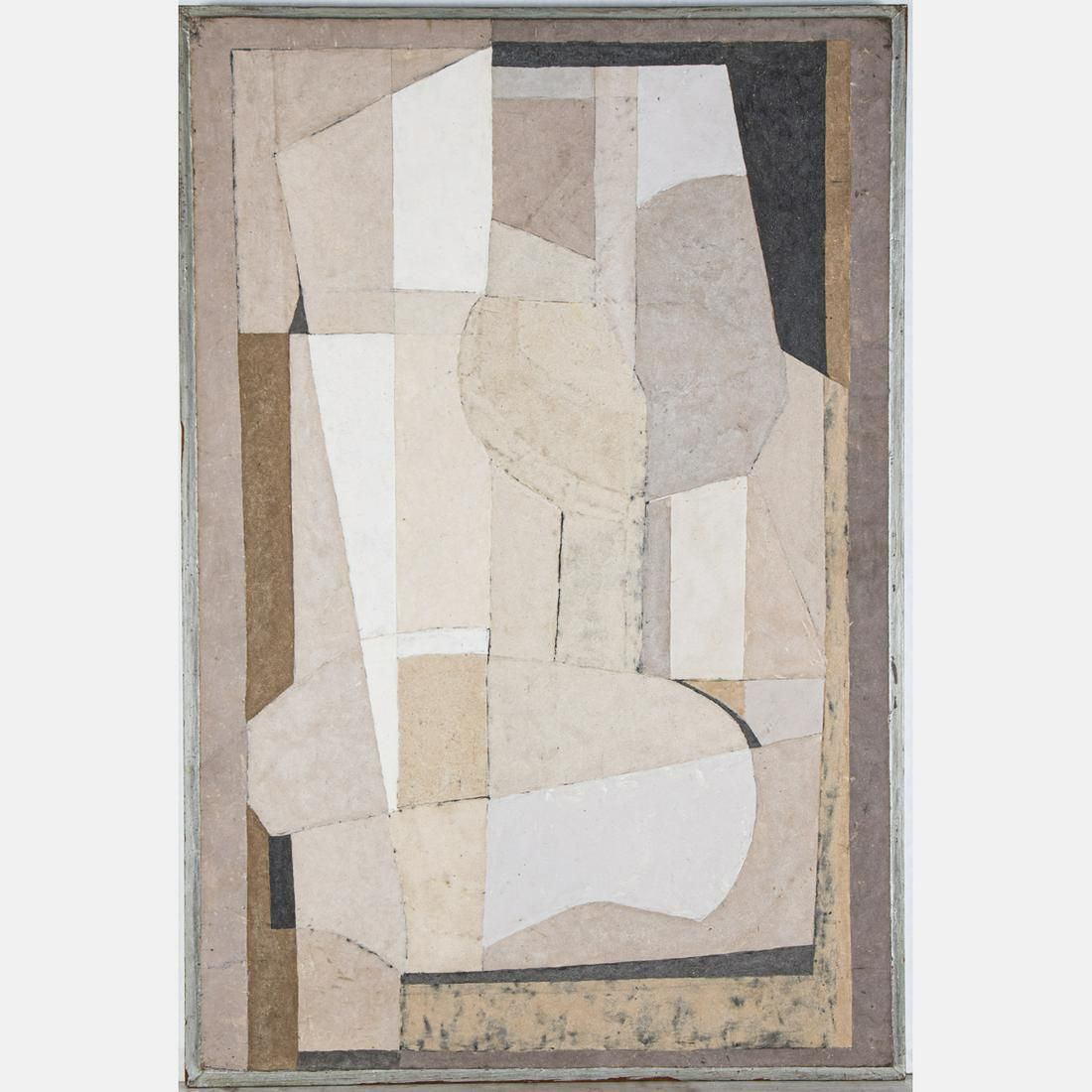 Julian Stanczak 1928 - 2017 Figure, Mixed media on