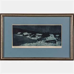 Allen Smutglo b 1946 Rattle Snake Harbor December