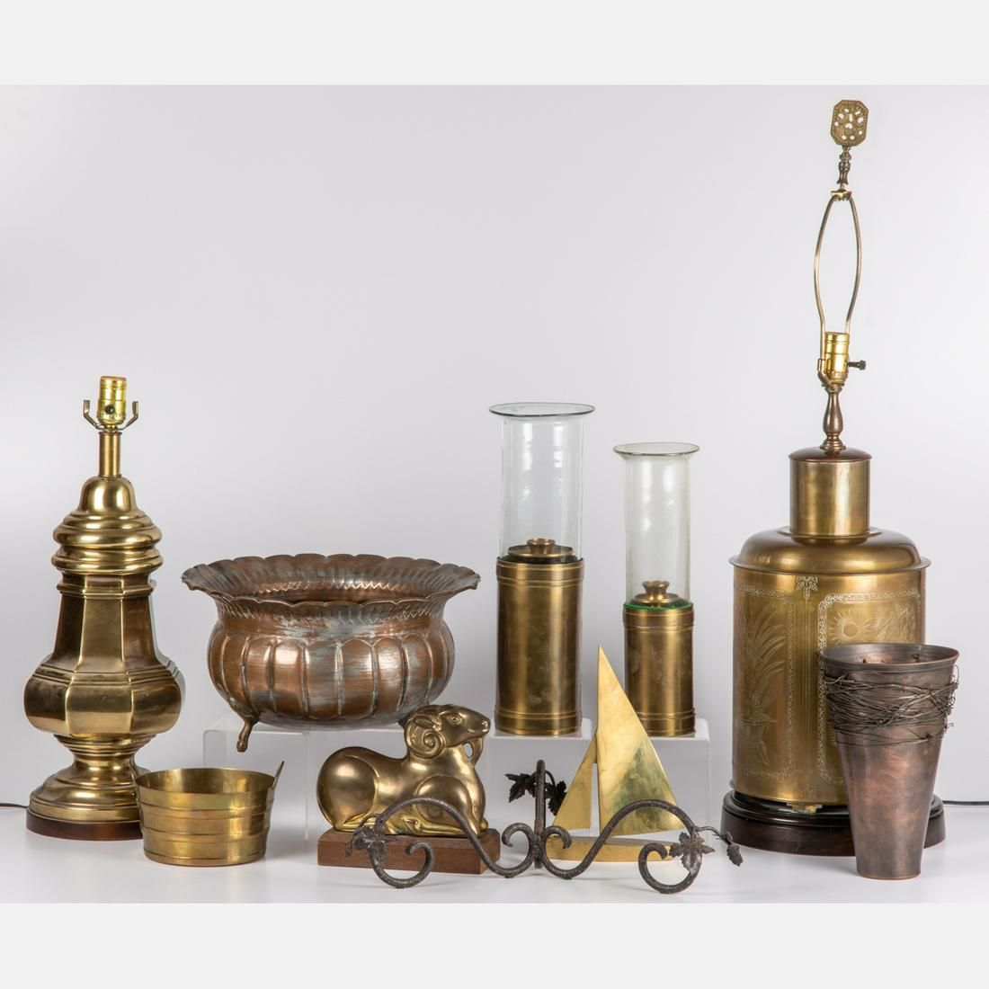 A Miscellaneous Collection of Brass and Copper