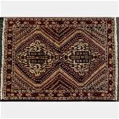 A Fine Persian Afshar Wool Rug 20th Century