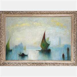 Artist Unknown (20th Century) The Grand Canal Venice,