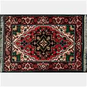 An Indo Persian Heriz Wool Rug, 21st Century.