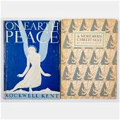 Two Christmas Books by Rockwell Kent 20th Century