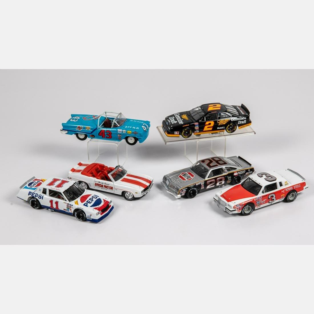 Group of 1:18 Scale Nascar Race Car Models