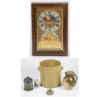 A Miscellaneous Collection of Earthenware Pottery 20th