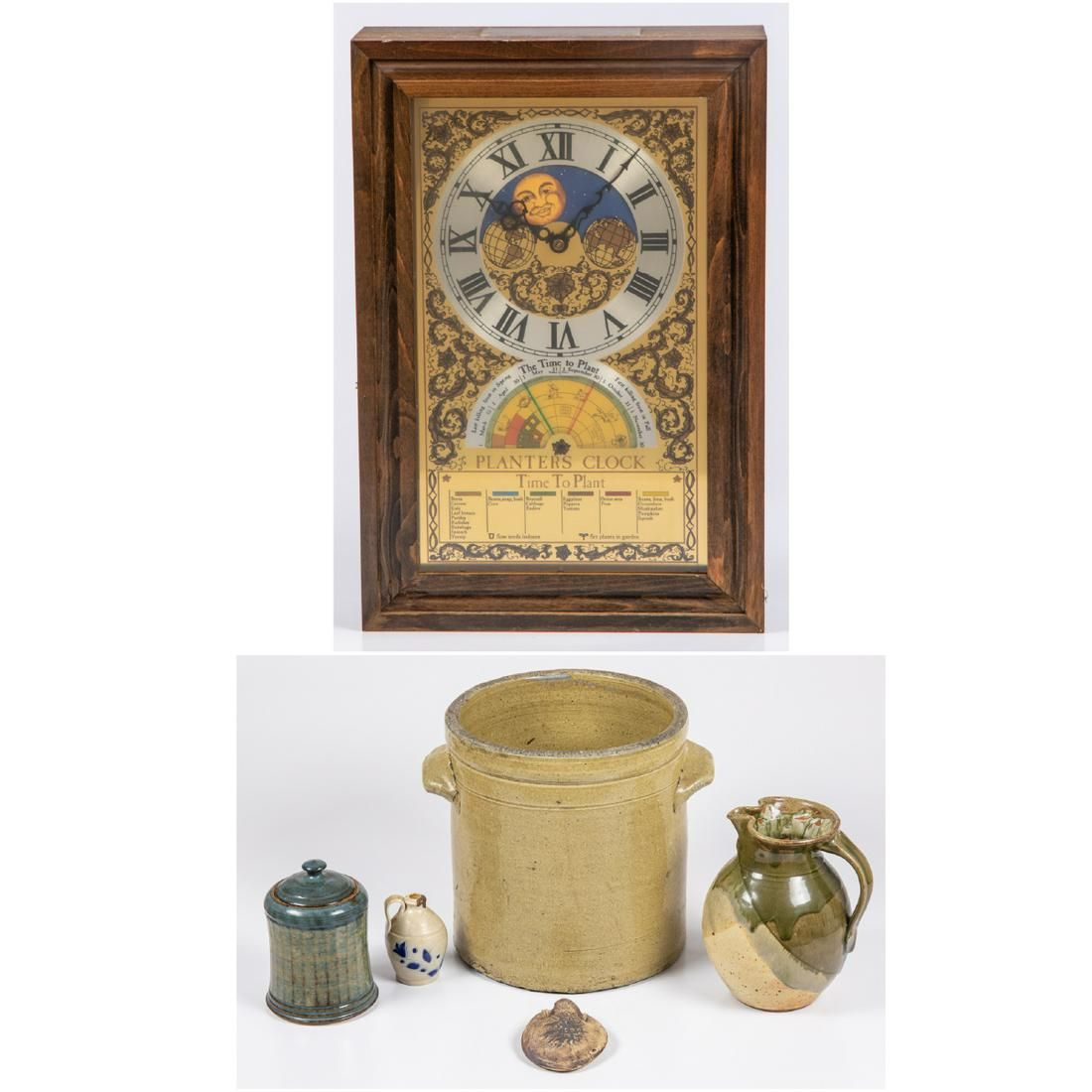 A Miscellaneous Collection of Earthenware Pottery, 20th