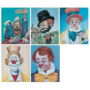 A Group of Red Skelton 19131997 Limited Edition