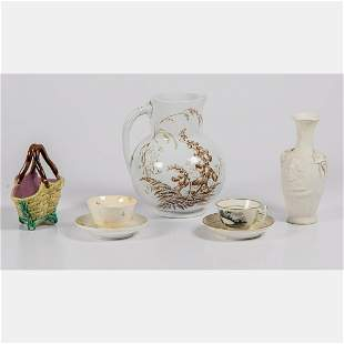 A Collection of Victorian Ceramic Serving and