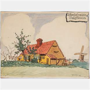 Harry LeRoy Taskey 18921958 Meulebeke Belgium WWI