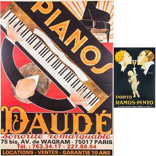 Two Reproduction Posters