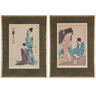 After Kitagawa Utamaro I (Japanese, 1753-1806), The