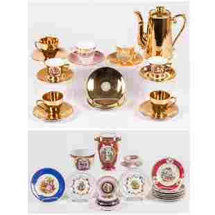 A Miscellaneous Collection of Continental Porcelain