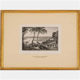 An Engraving on Paper After J.M.W. Turner, R.A.,
