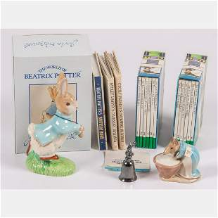 A Miscellaneous Collection of Beatrix Potter Books and