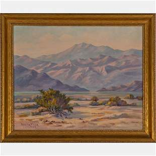 Nevada Wilson (American, 1877-1961) Santa Rosa, Palm
