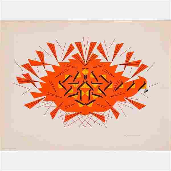 Charles Harper (American, 1922-2007) The Last Sunflower