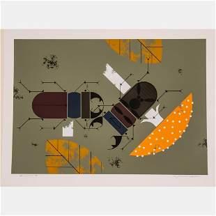 Charles Harper (American, 1922-2007) Beetle Battle,