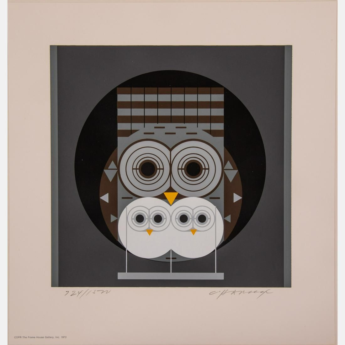 Charles Harper (American, 1922-2007) Family Owlbum,