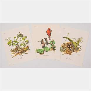 A Group of Three Lithographs by Ray Harm (American, b.
