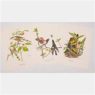 A Group of Three Lithographs by Ray Harm (American,