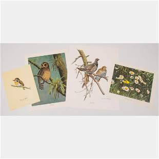 A Group of Four Lithographs by Don Eckleberry