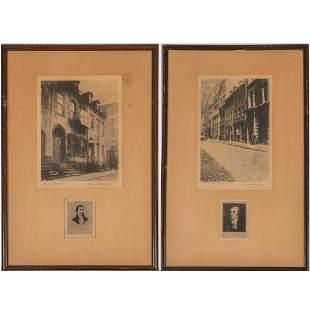Albert E. Schaaf (American, 1866 - 1950) Monroe House,