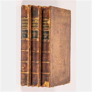 A Three Volume Set of Memorials of Affairs of State in