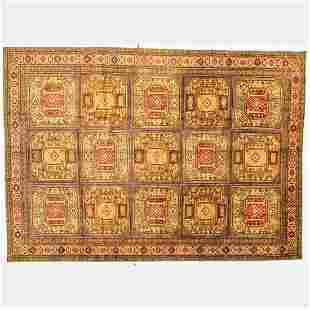 An Antique Turkish Kayseri Wool Rug, ca. 1930's.