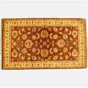 An Afghani Persian Tabriz Wool Rug, 21st Century.