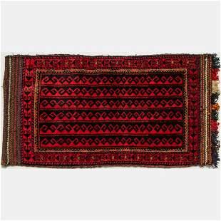 An Antique Persian Balouch Wool Cargo Bag, ca. 1930's