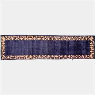 A Persian Tabriz Wool Runner, 20th Century.