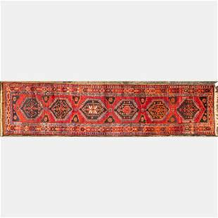Antique Persian Heriz Northwest Persia Wool Runner
