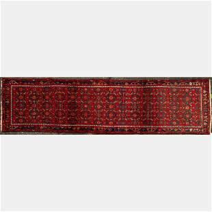Persian Zanjan Wool Runner